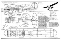 Lambert Monocoupe model airplane plan