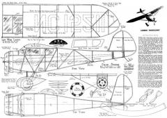 Lambert Monocoupe 50in model airplane plan