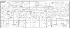 Lancaster Bomber 74 model airplane plan