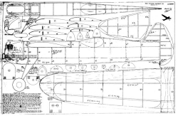 Lancer 49 model airplane plan