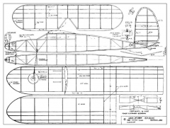 Lanzo 30in Cabin model airplane plan
