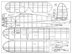 Lanzo Cabin model airplane plan