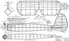 Lanzo's Bomber model airplane plan
