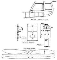 Lanzo Record Breaker p1 model airplane plan
