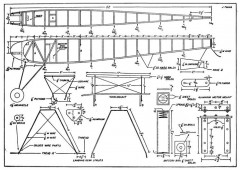 Lanzo Record Breaker p2 model airplane plan