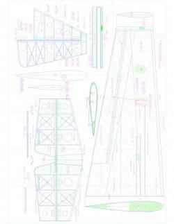 Laser 200 2 Model 1 model airplane plan