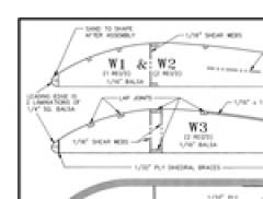 LazyBeeWing tiled model airplane plan