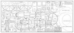 Lazy Bee model airplane plan