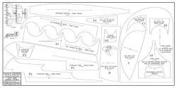 Lazy Bee Patterns model airplane plan