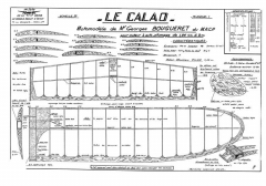 Le Calao model airplane plan