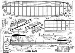 Leapa-Lena model airplane plan