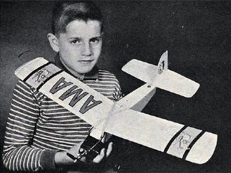 Lightning Bug model airplane plan