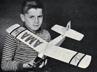 Lightning Bug model airplane plan