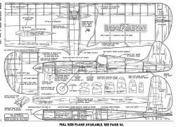 Lil Dynamite model airplane plan