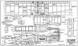 Lil Ghost model airplane plan