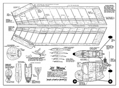Li'l Misery model airplane plan