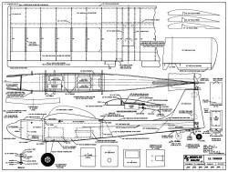 Lil Swinger 40in model airplane plan