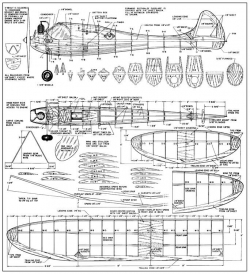 Lilliput Gassie-FM-06-47 model airplane plan