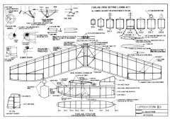 Lippisch Stork IX b model airplane plan