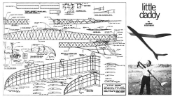Little Daddy model airplane plan