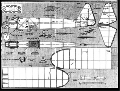 Little Vagabond model airplane plan