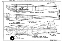 Little Arcy 2 model airplane plan