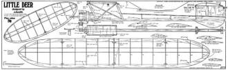Little Deer model airplane plan