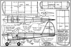 Little Dipper 18 in pd1 model airplane plan
