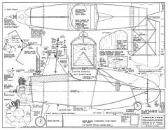Little Juan-American Modeler 08-67 model airplane plan