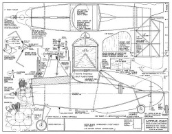 Little Juan-American Modeler 08-67 model airplane plan