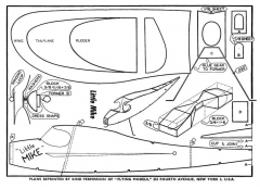 Little Mike model airplane plan
