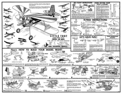 Little Toot inc decals model airplane plan