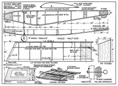 Little Willie model airplane plan