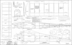 Live Wire Senior model airplane plan