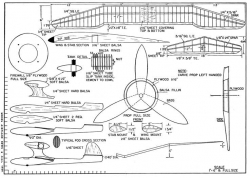 Loafer model airplane plan