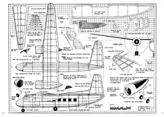 Lockheed Saturn model airplane plan