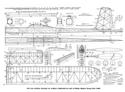 Loffler L-8 Wakefield Winner model airplane plan