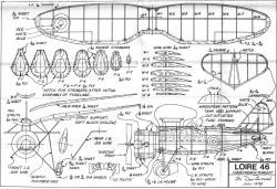 Loire46 model airplane plan