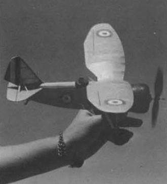 Loire 46 model airplane plan