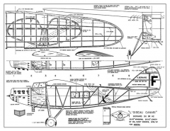 Loiseau Canari model airplane plan