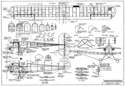Longstger Wimpy model airplane plan