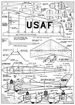 Loopy WAM model airplane plan