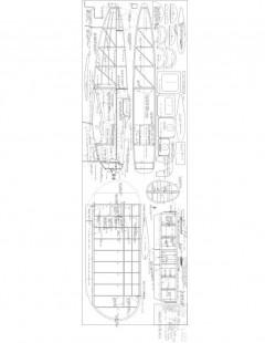 Low Lizz Model 1 model airplane plan