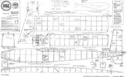 Lucky Strike model airplane plan