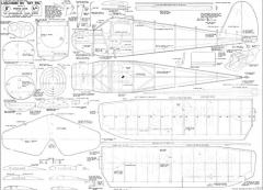 Luscomb 8A Skypal JJ model airplane plan