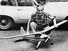 Luscombe 50 model airplane plan