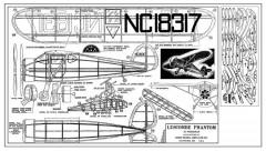 Luscombe Phantom-16in Burd model airplane plan