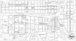 Luscombe Silvaire model airplane plan