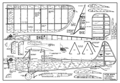 Luton Minor model airplane plan