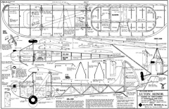 Luton Minor Flyline model airplane plan
